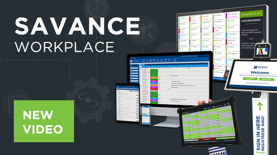New Savance Workplace Overview Video